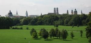 park i Munchen