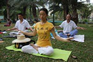 meditation i park